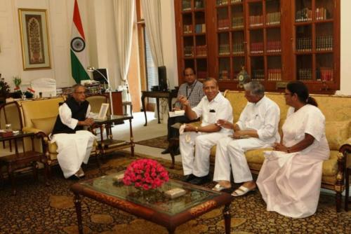 with-former-president-pranab-mukherjee